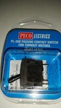 Peco Passing Contact Switch, Black Lever, Peco Model Railroad Track, PPC... - $9.88