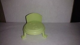 Fisher Price Little People Green Pet Parlor Chair - $4.50