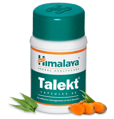 Primary image for Himalaya Herbal Talekt Capsules -Dermal Infections, Itching - 60 Tablets