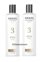 NIOXIN Cleanser aand Scalp Therapy Conditioner 3 Duo 10oz **NEW** - $42.57