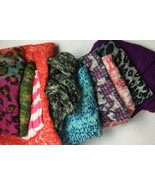 Lot of 10 very pretty Infinity Scarves Scarf Lot Fall Spring - $28.04