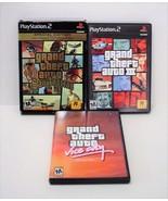 Grand Theft Auto San Andreas Special Edition VICE CITY GTA III Playstati... - $32.99