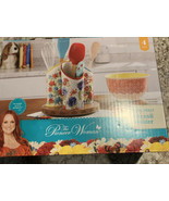 The Pioneer Woman Floral Medley 3-Compartment Utensil Holder - $48.39