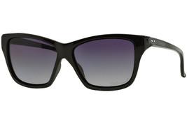 Oakley Hold On Polished Black Frame Grey Gradient Polarized Lens [OO9298-06] - $121.99