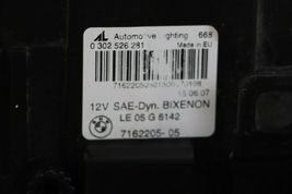 07-10 BMW E83 X3 LCI HID Xenon AFS DYNAMIC Headlight Driver Left LH - POLISHED image 8