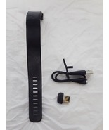 Fitbit Charge HR Wireless Activity Wristband - Black, Large For Parts/Br... - $18.99