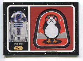 2017 Star Wars Journey To The Last Jedi Emblem Patch #MPD2 R2-D2 > Kenny... - €3,47 EUR