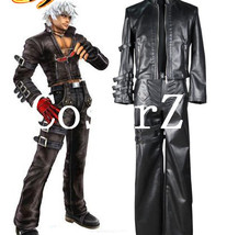 King of Fighters 99 K DASH Black Game Cosplay Costume - $118.00