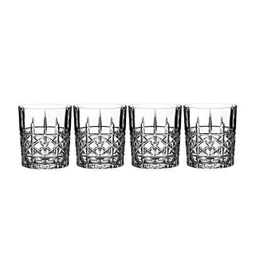 Waterford Marquis Brady Double Old Fashioned DOF Glasses Set of 4