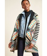NWT ANTHROPOLOGIE JOSEFANA JACQUARD SWEATER COAT by ALDOMARTINS XS, S - $170.99
