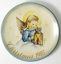"""Schmid """"Heavenly Light"""" Hummel Inspired Christmas 1985 Plate - $19.79"""