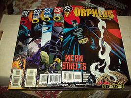 BATMAN: ORPHEUS RISING #1-5 (COMPLETE MINI-SERIES) - $12.50