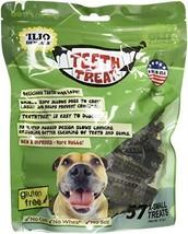 Ilio Dentals Teeth Treat Dog Dental Treats, X-Small,57 Treats