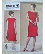 Vogue Tom & Linda Platt Dress Pattern 1208 American Designer 14 - 20 UNC... - $8.99