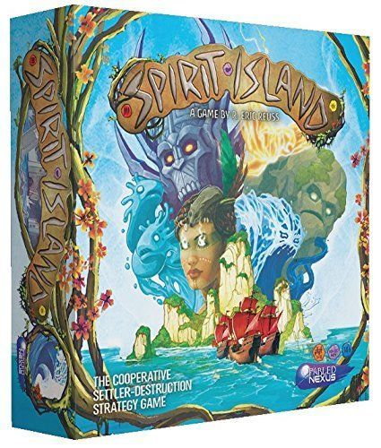 Greater Than Games Spirit Island Core Board Game [New]