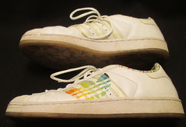 Mens Sneakers Adidas Colorful Trifoil Shelltoe VGUC Vintage sz Large Leather 9 5wPxY6YA
