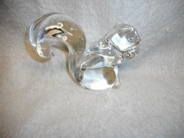 """VINTAGE NEW MARTINSVILLE  SQUIRREL PAPERWEIGHT  5"""" TALL NO BASE N/R - $59.99"""