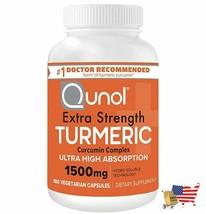 Qunol Turmeric Curcumin Capsules with Ultra High Absorption 1500mg Joint... - $68.28