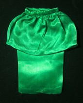 Vintage Original Barbie Theater Date Green Satin Skirt 1963 ~ GUC - $9.89