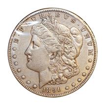 1891 CC Morgan Silver Dollar - AU / Almost Uncirculated - $257.45
