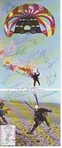 7th ARMY PARACHUTE TEAM PARACHUTE MAIL SIGNED BY 12 MEMBERS APO 1973 #24... - $14.00