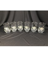(6) Pfaltzgraff Tea Rose Pattern Drinking Glasses Libby - Set of 6 - $39.99