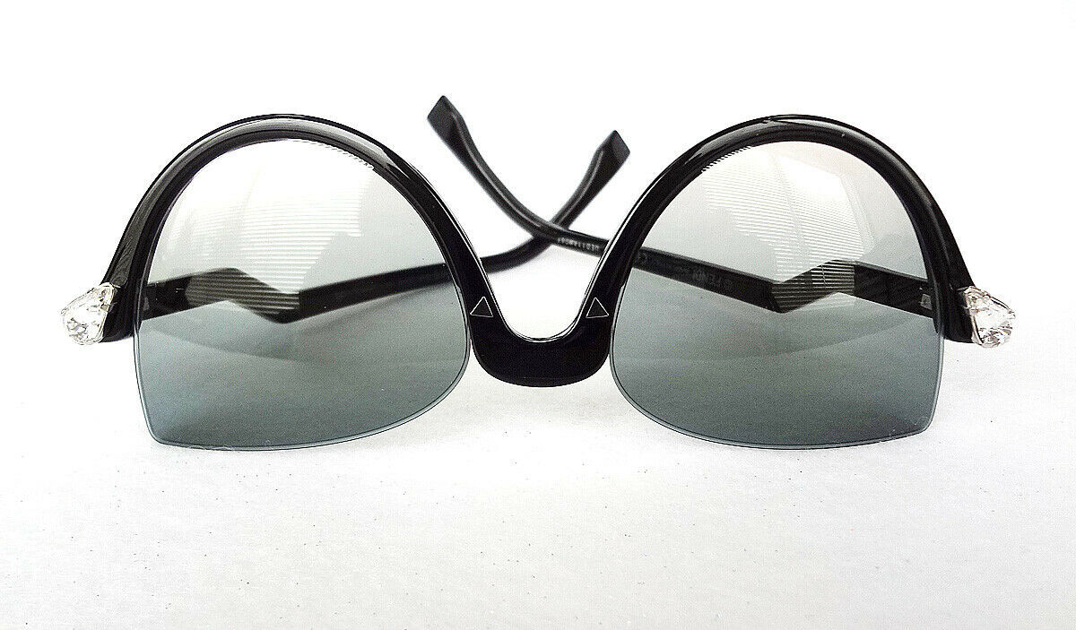 FENDI Women's Sunglasses FF0138/S 029A-IE 52-19-140 Black MADE IN ITALY - New!