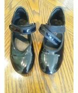 Freestyle by Danskin Girls Children Tap Dance Shoes Size 11 Black - $12.87