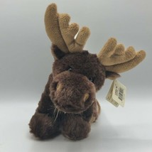 "Unipak 9"" Brown Moose Plush Purse 2013 NWT - $14.84"