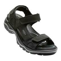 Keen Rialto 3 Point Open Toe Men's Sandals Black Shoes Sz 11.5 M  **NEW** - $81.22