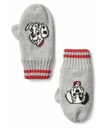 Gap Kids Boys Winter Mittens Gloves S/M Gray Red Disney Dalmatians Cotto... - $14.84