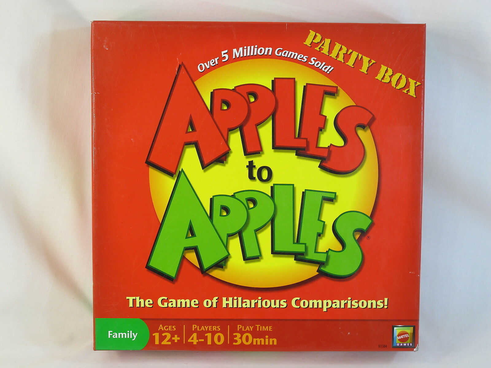 Primary image for Apples to Apples 2007 Party Box Board Game Mattel 100% Complete Near Mint @@