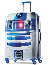 ❤ American Tourister Star Wars 28 Inch Hard Side Spinner R2-D2 ◾ New - $157.65