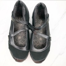 Skechers Shape Ups Mary Jane 7.5 Black Shoes Womens Sneakers Toning Rocker image 2