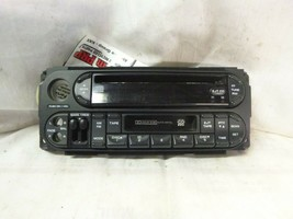 02-07 Dodge Chrysler Jeep Radio CD Cassette Face Plate P05064300AC PRM17 - $14.85