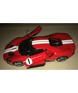 MAISTO 2017 FORD GT RED 1:18 SCALE - $17.82