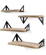 Rustic Wood Wall Shelves, Storage Shelves - $62.99