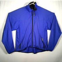 Helly Hansen Medium Silmond Teljin Blue Jacket Windbreaker Cycling Running - $37.39
