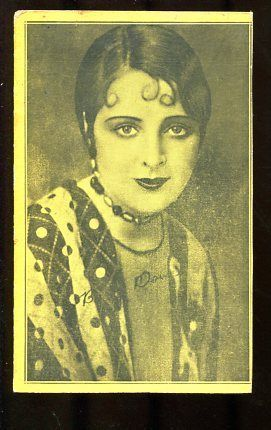 Primary image for FLAPPER ARCADE CARD-SILENT FILM ACTRESS-1920 G