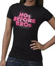 DGK Dirty Ghetto Kids Womens Girls Ho's Before Bro's Black or White T-Shirt NWT