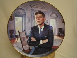 PROFILE IN COURAGE JFK Collector Plate PRESIDENT JOHN F KENNEDY  Max Gin... - $29.99