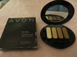 Avon Eye Shadow Quad Cocoa Glow Rare Last One Free Shipping - $5.99