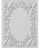 Creative Expressions Embossing Folder 3D Holly Swirls 5.3/4x7.1/4, EF3D008 - $8.46