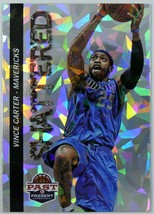 2012-13 VINCE CARTER Panini Past & Present Shattered Holo Insert Card - $5.00