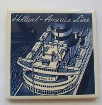 Tile Holland America Line Cruise Ship  Cork Ba... - $10.00