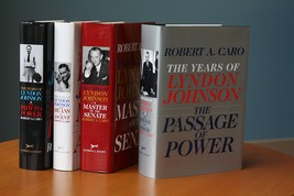 The Years of Lyndon Johnson: The Path to Power; Means of Ascent; Master ... - $9,999.00