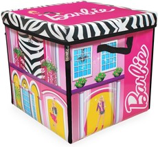 Barbie ZipBin 40 Doll Dream House Toy Box and Playmat, Styles May Vary - $33.99