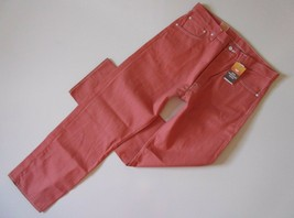 NWT Levi's 501 in Apricot Brandy Shrink To Fit Raw Unwashed Denim Jeans ... - $31.99