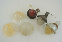 Clearance Lights & Lenses Lot of 6 Exterior Truck Trailer Front Rear 7 &... - $24.18