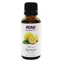 NOW Foods Lemon Oil, 1 Ounces - $8.95